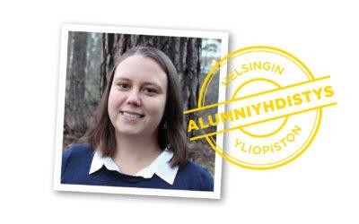 Saana Söderlund is an alumna