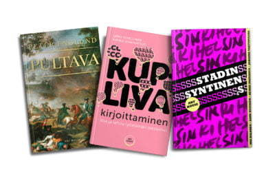 Art House and Jalava – 25 % discount on all books