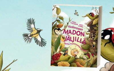 Monthly offer in March: Kadonneen madon jäljillä